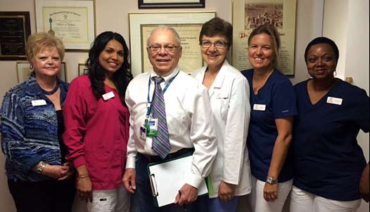 Dr. Gardner and Staff
